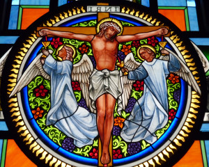 From Light to Light: Stained Glasses as Gateways to the Divine
