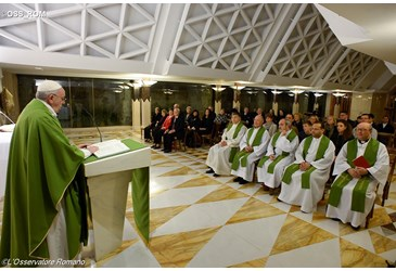 Pope: God seeks us out and his love for us is boundless