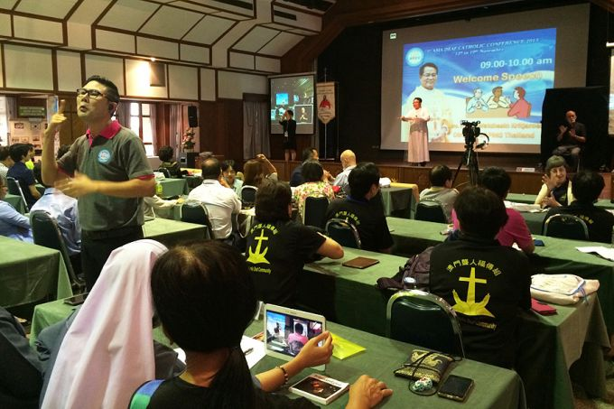 Asia's first conference for deaf Catholics shares the ...