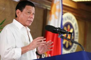 Philippine president questions God's existence
