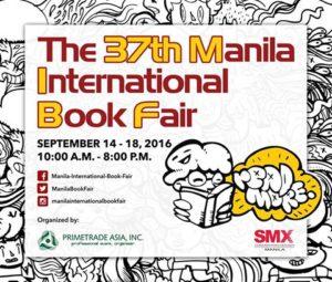 Manila International Book Fair 2016 (September 14-18)