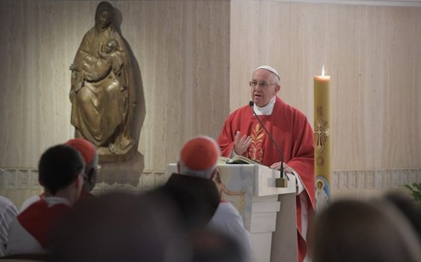 Pope Francis: Gospel must be proclaimed with humility