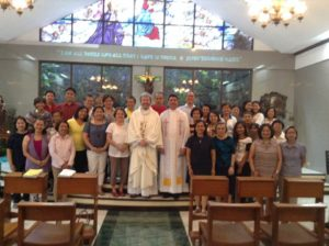 Montfortian Missionary Mesmerizes Marian Audience