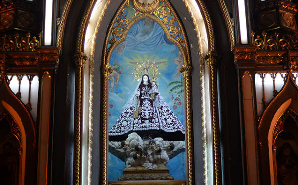 Church hopes for return of stolen head, hands of Our Lady of Mount Carmel statue