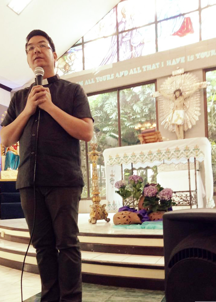 Montfortian Advent Recollection Hails Mary, the Perfect Model to Holiness