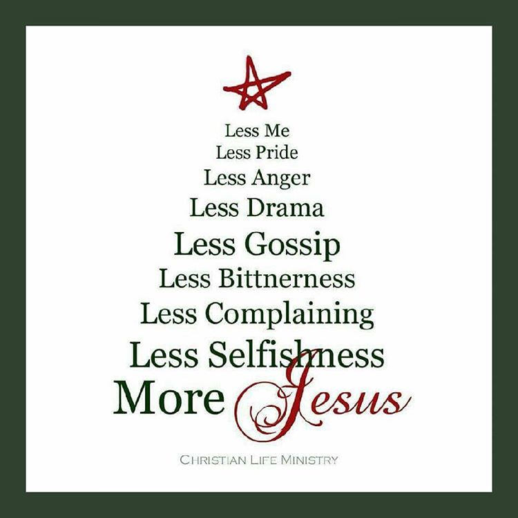 less me more Jesus