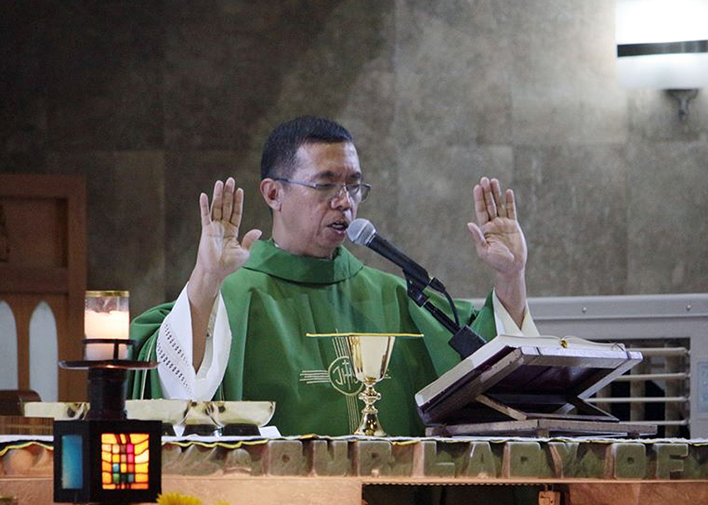 Bishop-elect Bartolome Santos, Jr. of the Diocese of Iba. PHOTO FROM THE NATIONAL SHRINE OF OUR LADY OF FATIMA