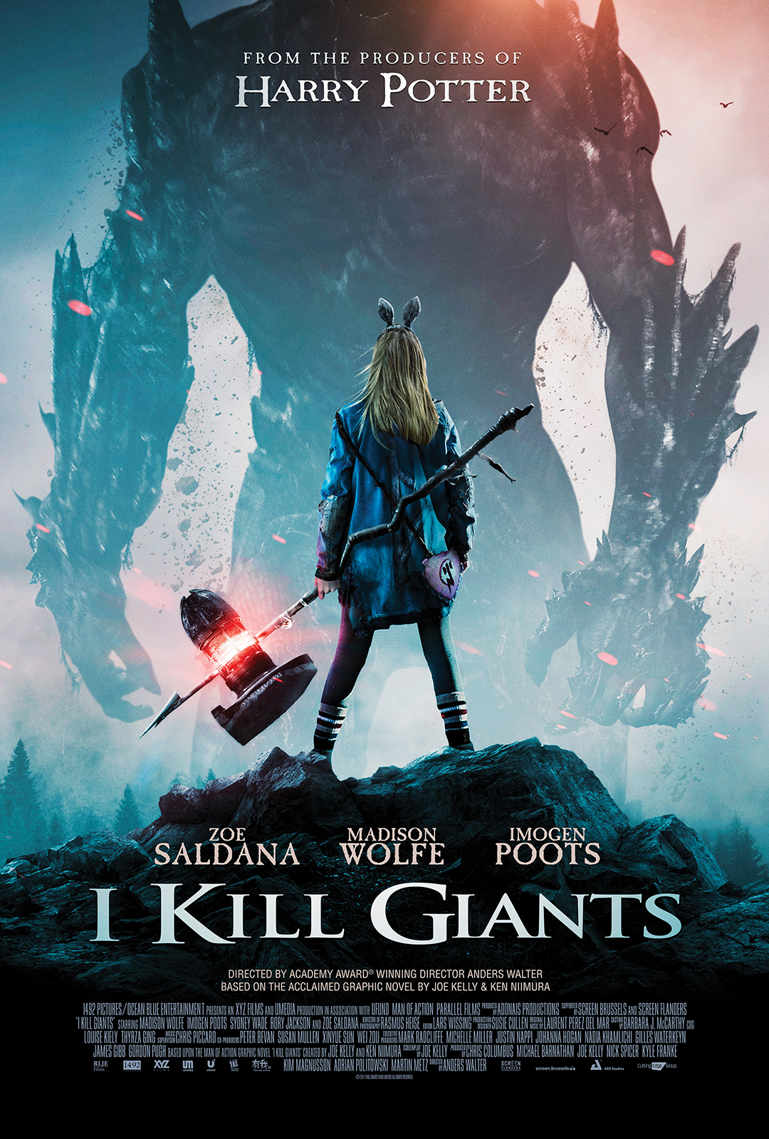 I KILL GIANTS: A BATTLE OF GOOD VS. EVIL