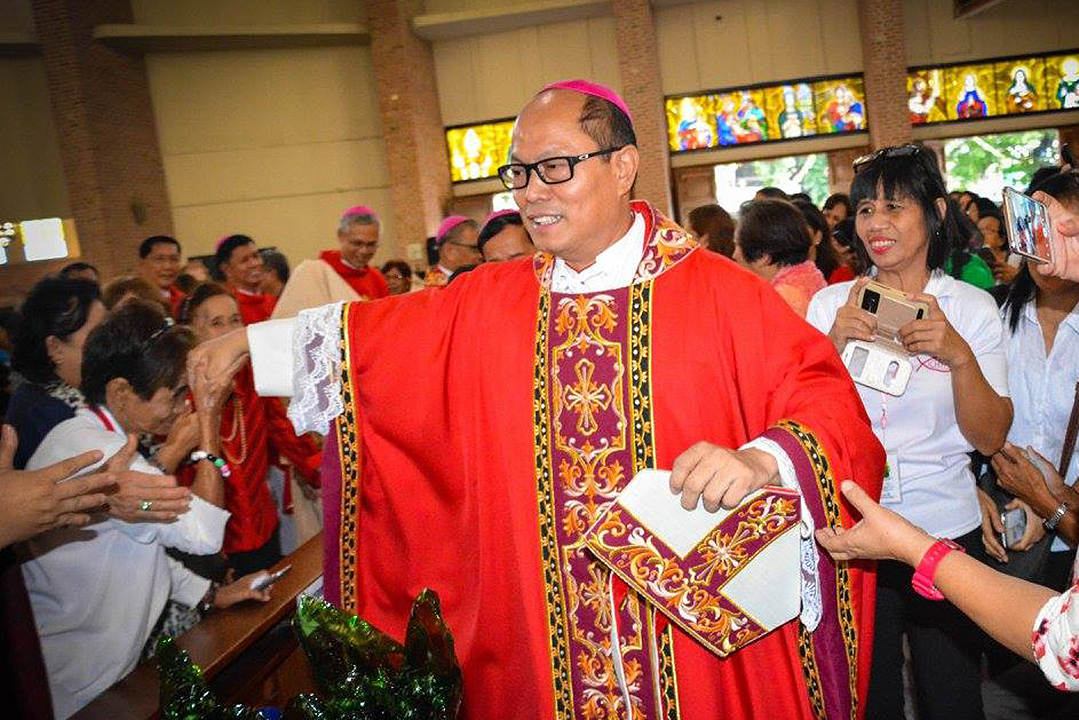 Pope Francis names Most Rev. Jose Elmer Mangalinao, who until now Auxiliary Bishop of Lingayen- Dagupan, as the new Bishop of the Diocese of Bayombong. GLENN MUNOZ LOPEZ