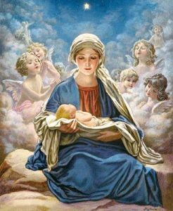 SAFE IN OUR BLESSED MOTHER'S EMBRACE