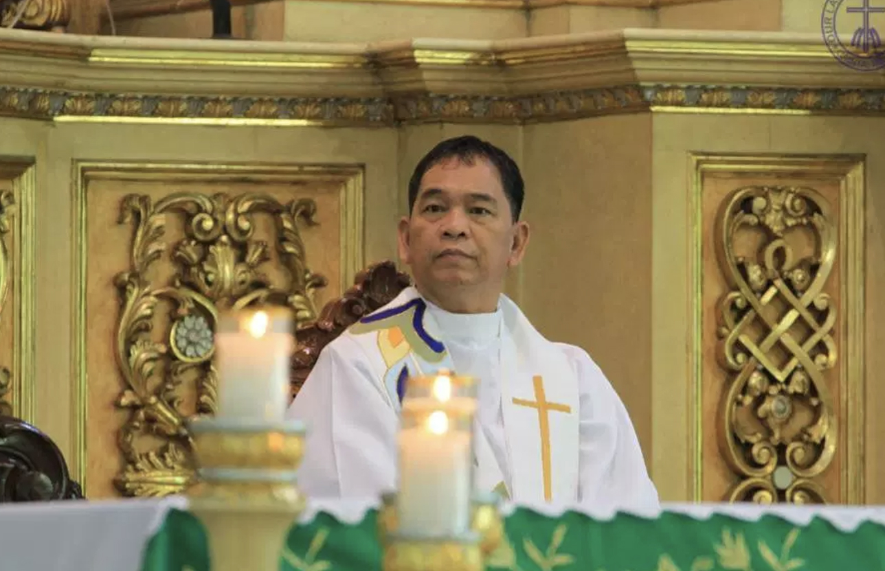 Auxiliary Bishop-elect Nolly Buco. PHOTO FROM THE DIOCESE OF ANTIPOLO