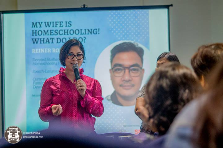 "Gina Guerrero-Roldan of Our Living Learning shares about her husband Reiner Roldan, who will be speaking on the topic, ""My Wife Is Homeschooling! What Do I Do?"" at the Philippine Homeschooling Convention on Sept. 22, 2018. PHC FB PAGE"