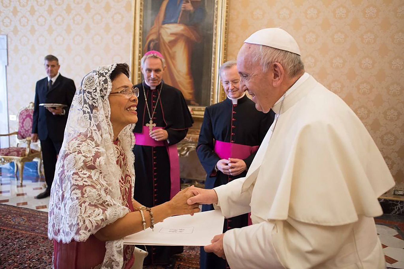 New Philippine envoy to Vatican