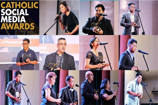 "The annual Catholic Social Media Awards in the Philippines, scheduled on Nov. 17, gives recognition to the country's ""best online evangelizers."" (Photo courtesy of CBCP News)"