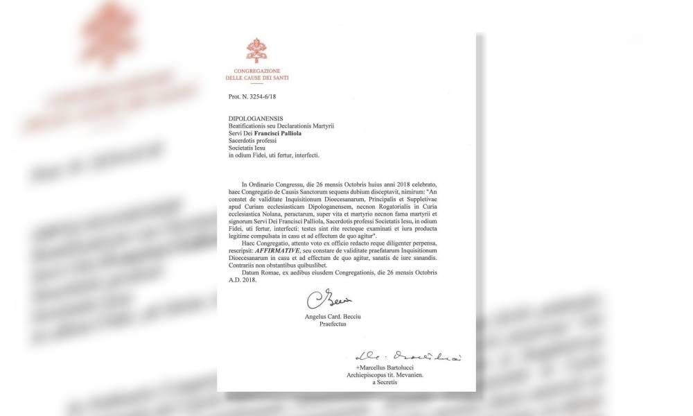 Sainthood cause advances for Jesuit missionary in Mindanao