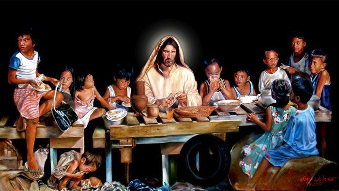 DO YOU REALLY HAVE JESUS THIS CHRISTMAS? Ang Dalawang Hapag (A Christmas Reflection on the late Joey Velasco's Two Banquets-Hope and Love)