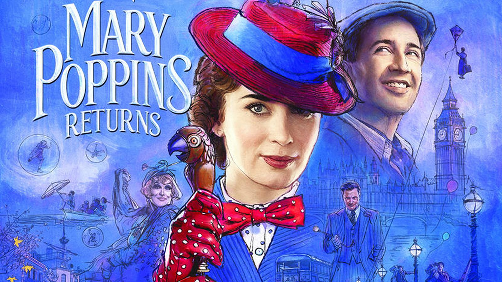 Still A Sweet Spoonful of Sugar MARY POPPINS RETURNS A FILM REVIEW