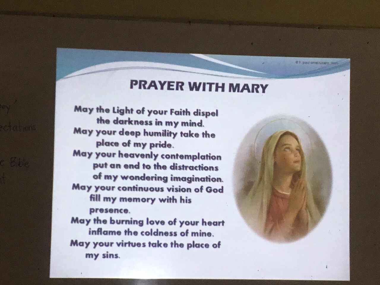 Fr. Dodong Deepens TTJers on Mary of the Bible