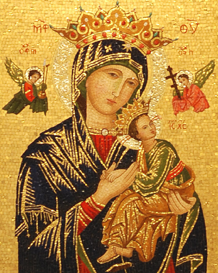MAKE HER KNOWN CELEBRATING  THE FEAST OF OUR MOTHER OF PERPETUAL HELP  ICON OF LOVE