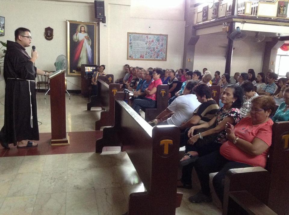 SJTP Faithful Attend OLAS Novena Mass