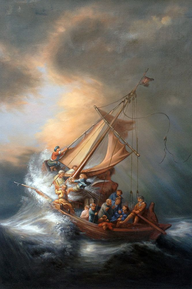 Jesus in the middle of the new storm: COVID-19                       (Faith in God amid the crisis)