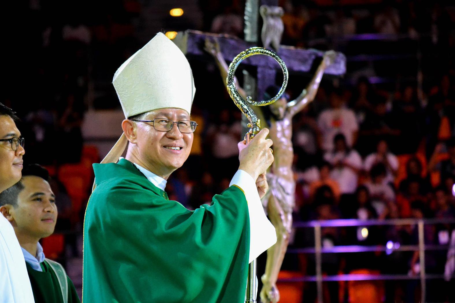 Pope names Tagle as among top-ranking cardinals
