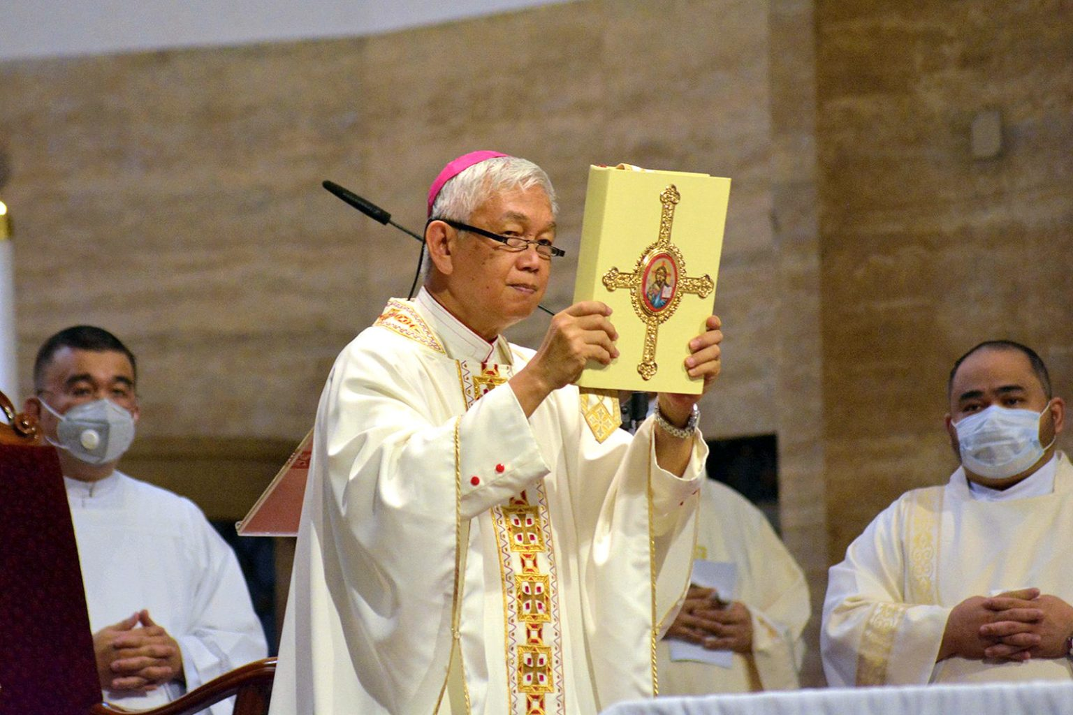 Bishop: Don't be afraid to act against injustices