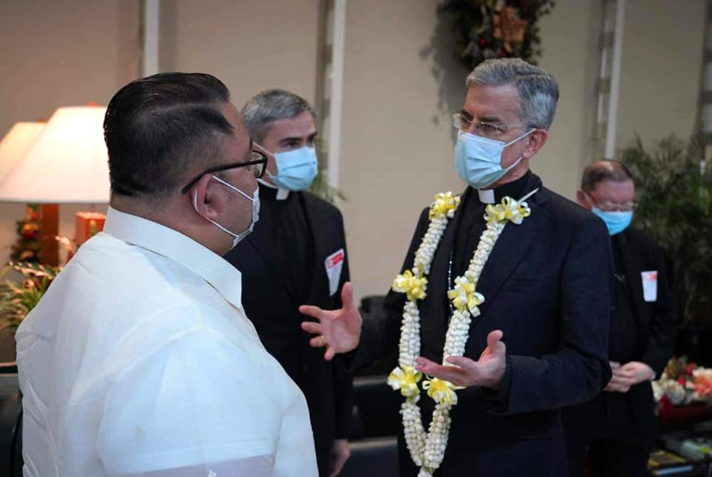 New Apostolic Nuncio arrives in PH