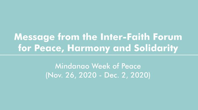 Dialogue towards harmony and a Covid-free society