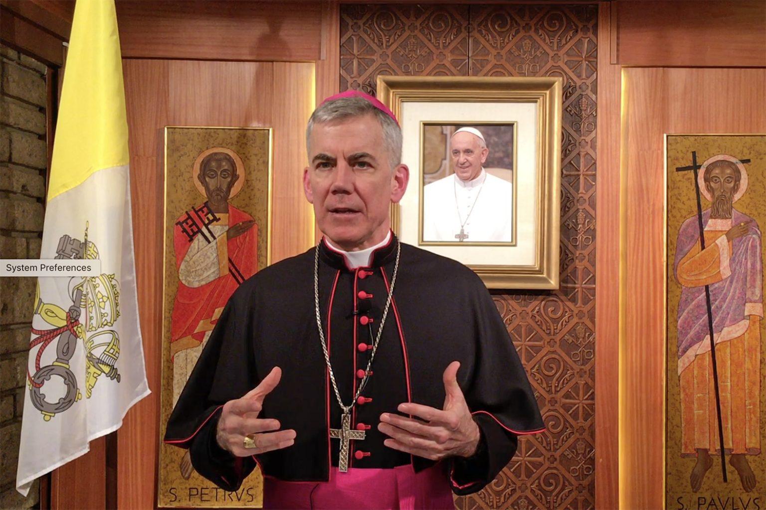 Nuncio calls Catholics to 'forefront' of ecumenism