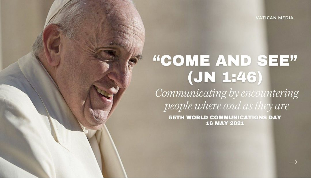 Pope Francis' message for the 55th World Communications Day