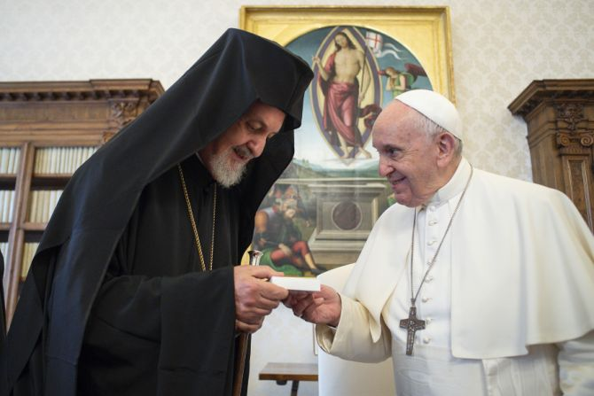 Pope Francis: 'The witness of growing communion between us Christians will be a sign of hope'