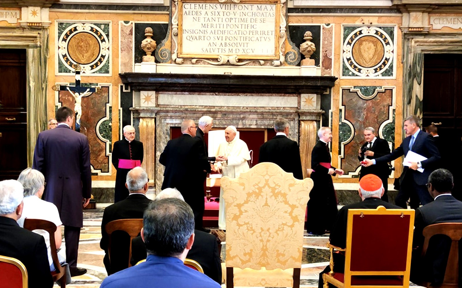 Pope Francis tells Claretian missionaries to 'fight for the basic rights of the people'