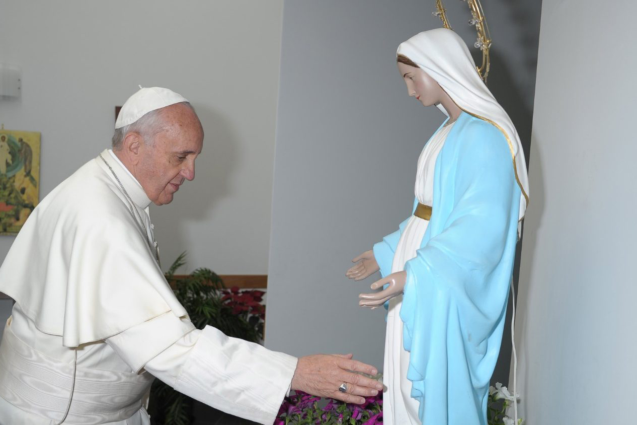 Pope Francis: Mary teaches us to listen to the voice of the voiceless