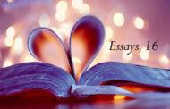 Essays, 16