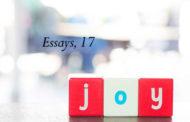 Essays, 17